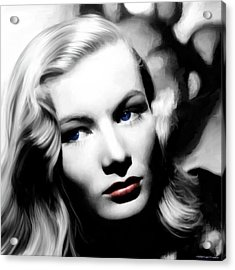 Veronica Lake Portrait #1 Acrylic Print