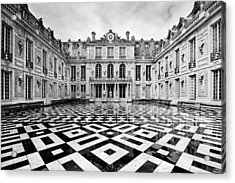 Versailles Architecture Paris Acrylic Print by Pierre Leclerc Photography