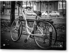 Versailles Bicycle Acrylic Print