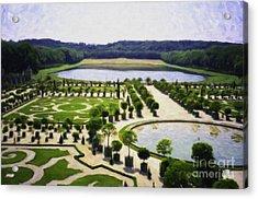 Versailles Digital Paint Acrylic Print