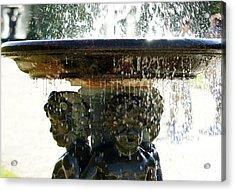Versailles Fountain Acrylic Print