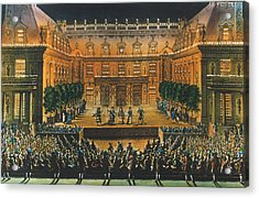 Versailles: Opera, 1676 Acrylic Print by Granger