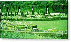 Versailles Pathways Acrylic Print