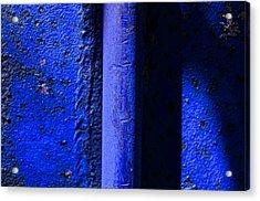Vertical Blue Acrylic Print