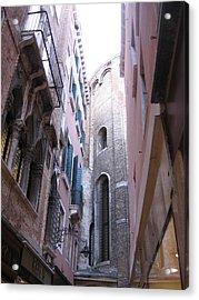 Vertigo In Venice Acrylic Print