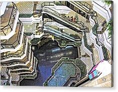 Acrylic Print featuring the photograph Vertigo View by Kim Wilson