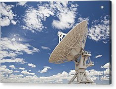 Very Large Array Antenna Acrylic Print