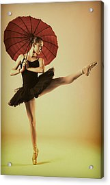 Very Pointey And Warm Acrylic Print