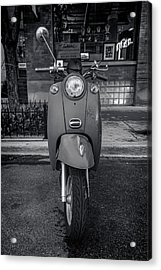 Acrylic Print featuring the photograph Vespa by Sebastian Musial