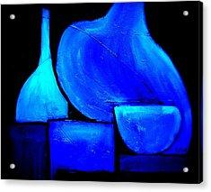 Vessels Blue Acrylic Print