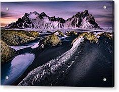 Vestrahorn, South Iceland Acrylic Print