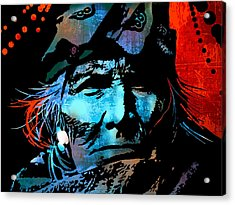 Veteran Warrior Acrylic Print by Paul Sachtleben