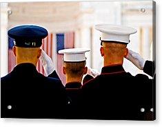 Veterans' Day Salute Acrylic Print