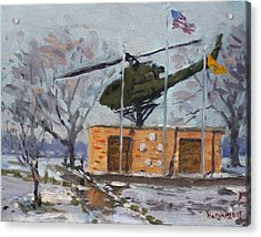 Veterans Memorial Park In Tonawanda Acrylic Print