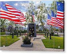 Veterans Monument Camarillo California Usa Acrylic Print