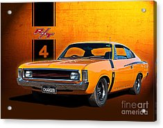 Vh Valiant Charger Acrylic Print