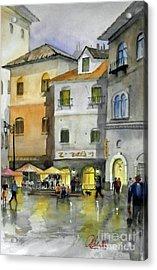via Corso Acrylic Print