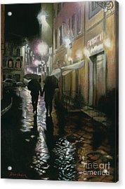 Via Della Spada - Firenze, Italia Acrylic Print by Kelly Borsheim