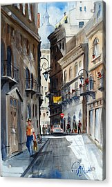 via Giardinetti  Acrylic Print