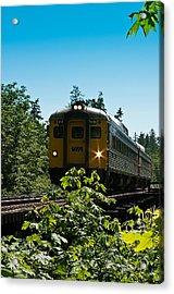 Via Rail - 6135 Acrylic Print by R J Ruppenthal
