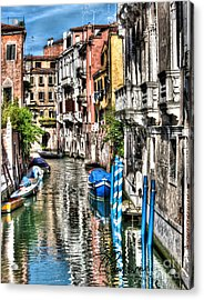 Viale Di Venezia Acrylic Print