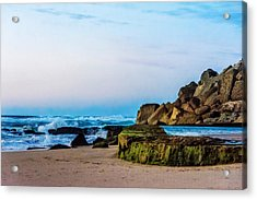 Acrylic Print featuring the photograph Vibrant Seascape At Twilight by Marion McCristall