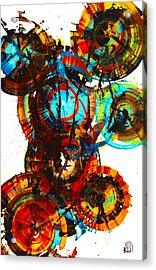 Vibrant Sphere Series 995.042312vsx2 Acrylic Print by Kris Haas