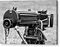 Vickers Machine Gun Acrylic Print