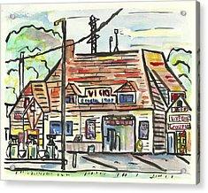 Vick's Corner Acrylic Print by Matt Gaudian