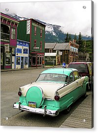 Vicky In Skagway Acrylic Print