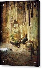 Vicolo Chiuso   Closed Alley Acrylic Print