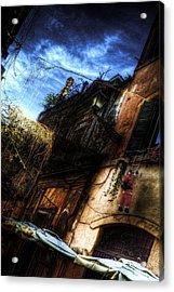 Vicolo Del Piede Acrylic Print by Brian Thomson