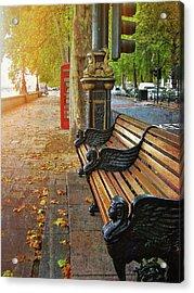 Victoria Embankment Acrylic Print by JAMART Photography