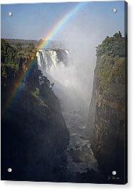 Victoria Falls No. 3 Acrylic Print by Joe Bonita