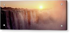 Victoria Falls, Zimbabwe Acrylic Print by Ben Cranke