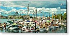 Victoria Harbor 1 Acrylic Print