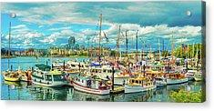 Victoria Harbor 2 Acrylic Print