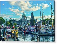 Victoria Harbor Boat Festival Acrylic Print