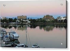 Victoria Harbor Dawn Acrylic Print