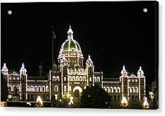 Victoria Legislative Buildings Acrylic Print