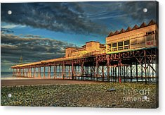 Acrylic Print featuring the photograph Victoria Pier 1899 by Adrian Evans