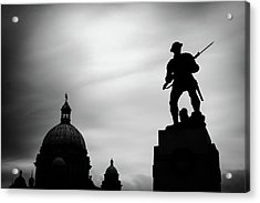 Victoria Silhouettes Acrylic Print