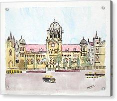 Victoria Terminus Acrylic Print