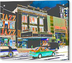 Victoria Theater 125th St Nyc Acrylic Print by Steven Huszar