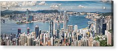 Victoria View Point Acrylic Print by Anek Suwannaphoom