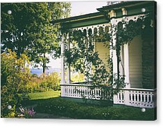 Victorian By The Sea Acrylic Print by Jessica Jenney