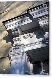 Victorian Details Acrylic Print by Sean Owens