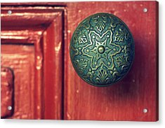 Victorian Door Handle Acrylic Print
