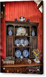 Victorian Dresser  Acrylic Print by Adrian Evans