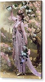Victorian Erotic Postcard 2 Acrylic Print by Rod Jones